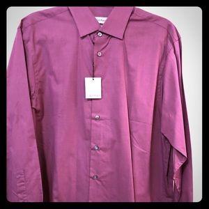 Calvin Klein men's Long sleeve dress shirt